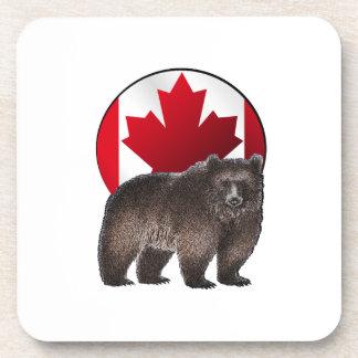 Kanadischer Lebensraum Untersetzer