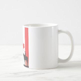 Kanadischer Mountie Kaffeetasse