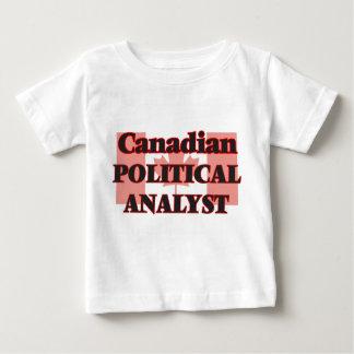 Kanadischer politischer Analyst T-shirt