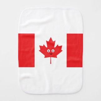Kanadisches Ahornblatt-Gesicht Baby Spucktuch