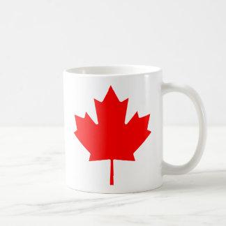 Kanadisches Ahornblatt Kaffeetasse