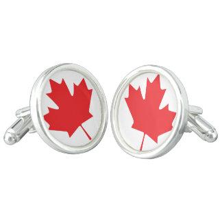 Kanadisches Ahornblatt Manschetten Knöpfe
