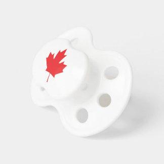 Kanadisches Ahornblatt Schnuller