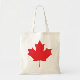 Kanadisches Ahornblatt Tragetasche