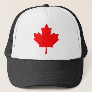 Kanadisches Ahornblatt Truckerkappe