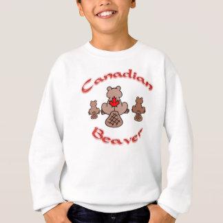 Kanadisches Biber-Shirt Sweatshirt
