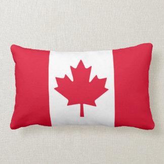 Kanadisches Flaggen-Ahornblatt rotes weißes Kanada Lendenkissen