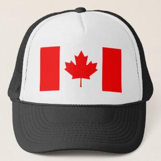 Kanadisches Flaggen-Blatt Truckerkappe