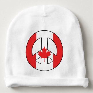 Kanadisches Friedenszeichen Babymütze