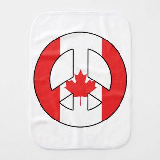 Kanadisches Friedenszeichen Spucktuch