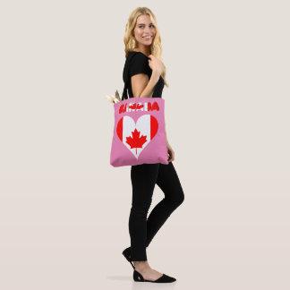 Kanadisches Herz Tasche