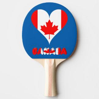 Kanadisches Herz Tischtennis Schläger