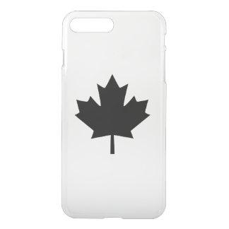 Kanadisches schwarzes Ahornblatt iPhone 8 Plus/7 Plus Hülle