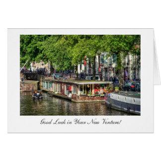 Kanal-Hausboot, viel Glück im neuen Risiko Karte