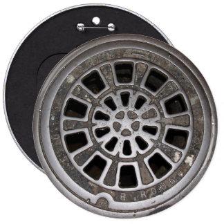 Kanaldeckel Runder Button 15,3 Cm