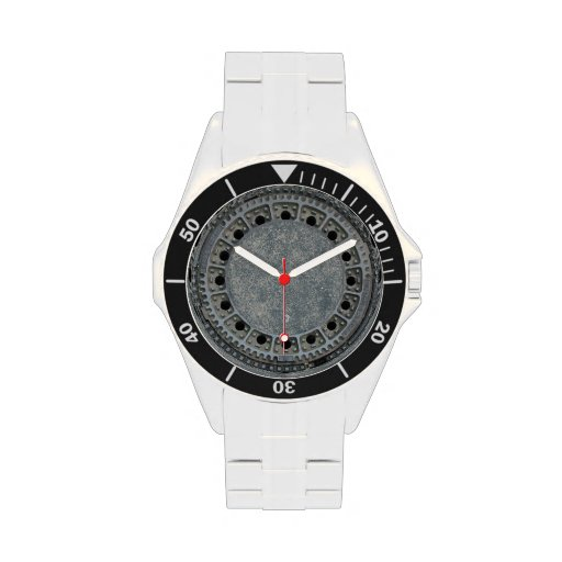 Kanaldeckel Uhren