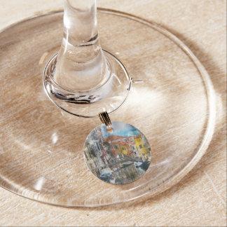 Kanäle von Aquarell Venedigs Italien Glasmarker