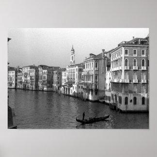 Kanäle von Venedig Italien Plakate