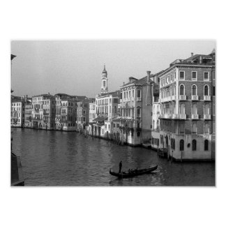 Kanäle von Venedig Italien