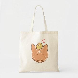 Kanarienvogel-und Kitty-Freund-Taschen-Tasche Tragetasche