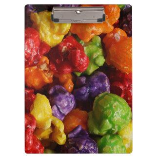 Kandiertes Popcorn-Klemmbrett Klemmbrett