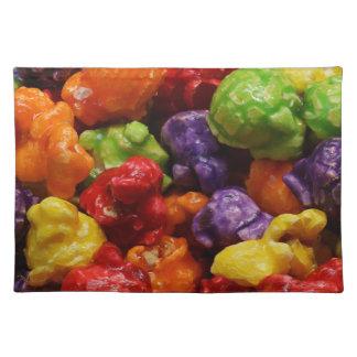 Kandiertes Popcorn-Stoff-Tischset Stofftischset