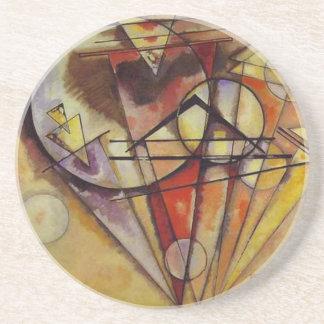 Kandinsky abstrakte Kreise Sandstein Untersetzer