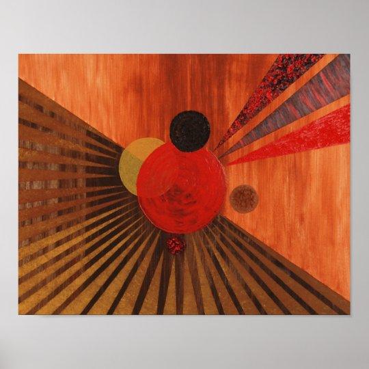 kandinsky abstrakte kunst poster zazzle. Black Bedroom Furniture Sets. Home Design Ideas