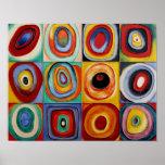 Kandinsky abstrakte Kunst Posterdruck