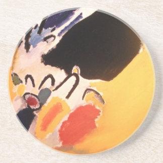 Kandinsky abstrakte Kunst Untersatz