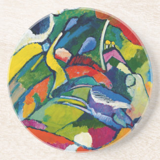 Kandinsky abstrakte Kunst Getränke Untersetzer