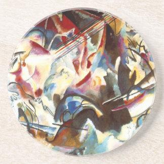 Kandinsky abstrakte Zusammensetzung VI Untersetzer