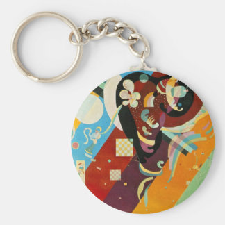 Kandinsky abstraktes Compositon IX Schlüsselanhänger