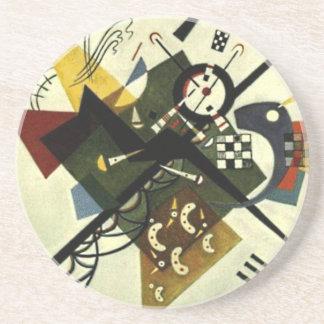 Kandinsky auf Weiß II Getränkeuntersetzer