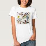 Kandinsky blauer Segment-T - Shirt