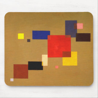 Kandinsky dreizehn Rechteck-abstrakte Malerei Mousepad