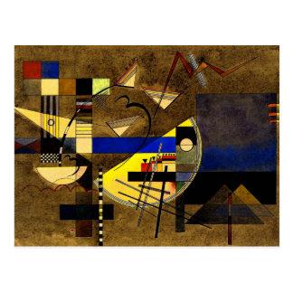 Kandinsky - Festes III Postkarte