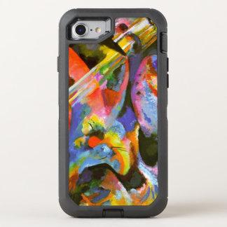 Kandinsky - Flut-Improvisation, Überschwemmung OtterBox Defender iPhone 8/7 Hülle