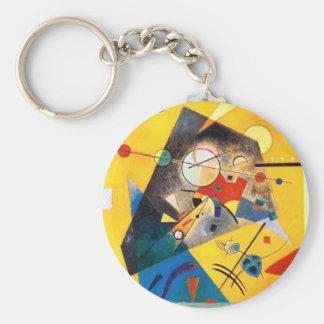 Kandinsky ruhige Harmonie-abstrakte Kunst Schlüsselanhänger