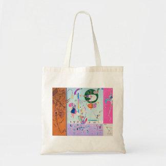 Kandinsky verschiedene Teil-Taschen-Tasche Budget Stoffbeutel