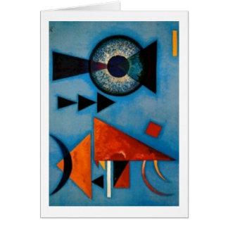 Kandinsky weich stark abstrakt grußkarte