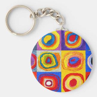 Kandisnky kreist Schlüsselkette ein Schlüsselanhänger
