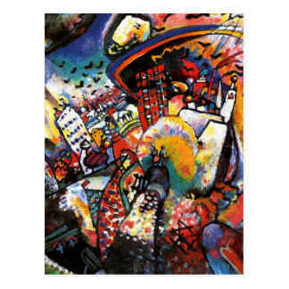 Kandisnky Moskau I Postkarte