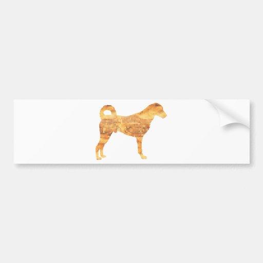 Kangal Hund Auto Aufkleber