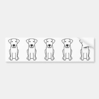 Kangal HundeCartoon Autoaufkleber