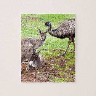 Kangaroo_And_Emu, _ Puzzle