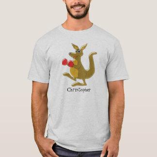 Känguru addieren gerade Namen T-Shirt