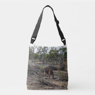 Känguru Billabong am vollen Tragetaschen Mit Langen Trägern