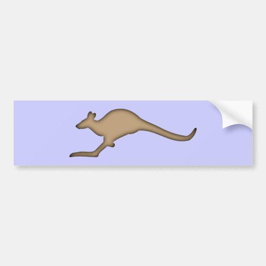 Känguru kangaroo autoaufkleber