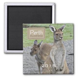 Känguru-Kühlschrankmagnet-Änderungs-Jahr Perths